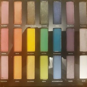 Urban Decay Cos Full Spectrum Eyeshadow Palette